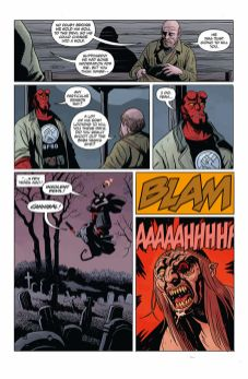 Dark Horse Comics Hellboy and the B.P.R.D.: Long Night at Goloski Station One-Shot Preview Page 3