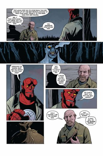 Dark Horse Comics Hellboy and the B.P.R.D.: Long Night at Goloski Station One-Shot Preview Page 4
