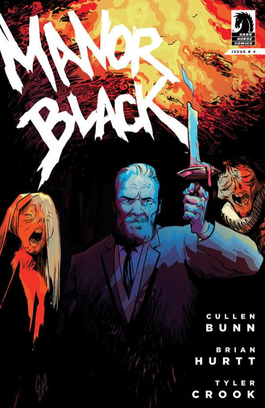 Dark Horse Comics Manor Black #4 Cover B by Erica Henderson