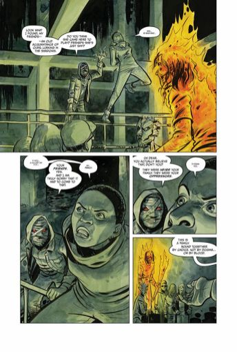 Dark Horse Comics Manor Black #4 Preview Page 4