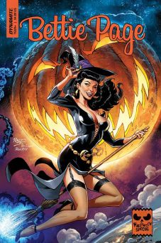 Dynamite Entertainment 2019 Bettie Page Halloween Special one-shot Cover A by John Royle