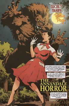 Dynamite Entertainment 2019 Bettie Page Halloween Special one-shot Preview Page 1