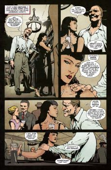 Dynamite Entertainment 2019 Bettie Page Halloween Special one-shot Preview Page 2