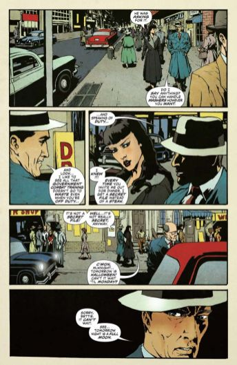 Dynamite Entertainment 2019 Bettie Page Halloween Special one-shot Preview Page 4