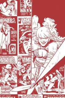 Dynamite Entertainment Vampirella/Red Sonja #2 Cover D (Tint, Virgin) by Leonardo Romero & Jordie Bellaire