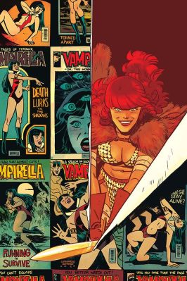 Dynamite Entertainment Vampirella/Red Sonja #2 Cover D (Virgin) by Leonardo Romero & Jordie Bellaire
