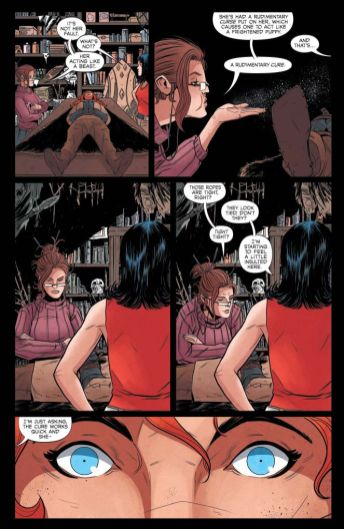 Dynamite Entertainment Vampirella/Red Sonja #2 Page Preview 4