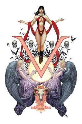 Dynamite Entertainment Vengeance of Vampirella Cover B (Virgin) by Frank Cho