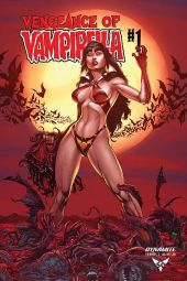 Dynamite Entertainment Vengeance of Vampirella Cover (Blood Moon) by Buzz