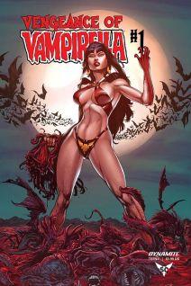 Dynamite Entertainment Vengeance of Vampirella Cover by Buzz