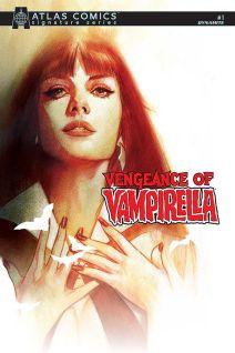 Dynamite Entertainment Vengeance of Vampirella Cover C (Atlas) by Ben Oliver