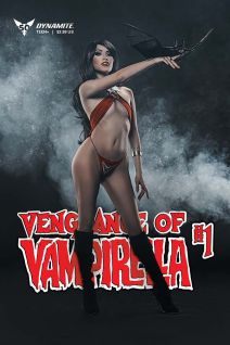 Dynamite Entertainment Vengeance of Vampirella Cover F (Cosplay)