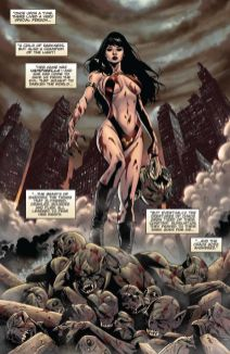 Dynamite Entertainment Vengeance of Vampirella Preview Page 2