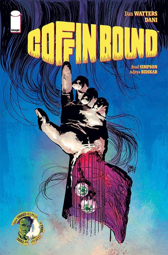 Image Comics Coffin Bound #3 Cover by Dani
