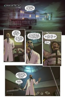 Mad Cave Studios Wolvenheart #1 Preview Page 1