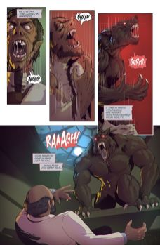 Mad Cave Studios Wolvenheart #1 Preview Page 3