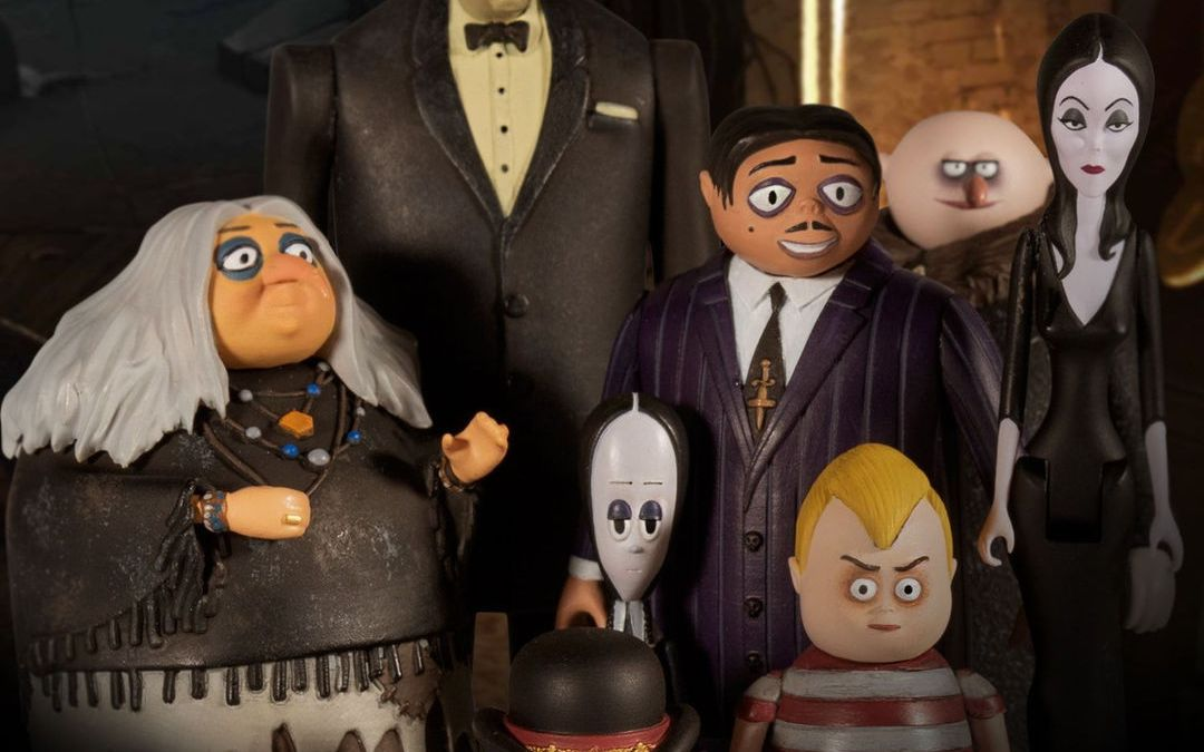 Mezco The Addams Family (2019) 5 Points Action Figures