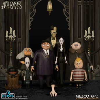 Mezco Toyz 5 Points The Addams Family (2019) Action Figures