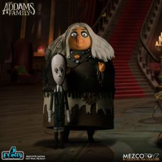 Mezco Toyz 5 Points The Addams Family (2019) Wednesday & Grandma Action Figures
