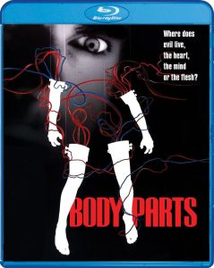 Scream Factory Body Parts (1991) Blu-ray Cover