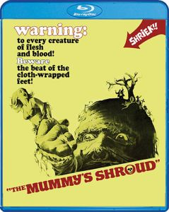 Scream Factory The Mummy's Shroud (1967) Blu-ray Cover