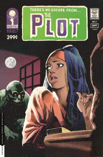 Vault Comics The Plot #1 Cover B by Nathan Gooden