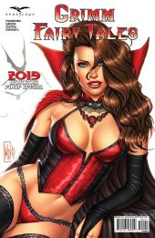 Zenescope Entertainment Grimm Fairy Tales 2019 Horror Pinup Special Cover D by Michael DiPascale