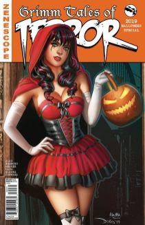 Zenescope Entertainment Grimm Tales of Terror 2019 Halloween Edition Cover C by Derlis Santacruz & Ula Mos