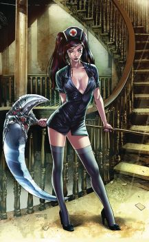 Zenescope Entertainment Grimm Tales of Terror: The Bridgewater Triangle #2 Cover C (Virgin) by Michael Sta. Maria