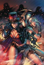 Zenescope Entertainment Van Helsing vs Dracula's Daughter #3 Cover B by Sheldon Goh
