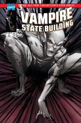 Ablaze Publishing Vampire State Building #3 Cover C by Julius Ohta