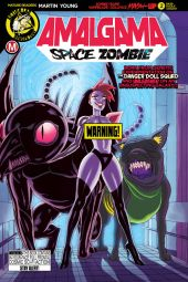 Action Lab Amalgama Space Zombie #2 Cover B (Risque) by Winston Young