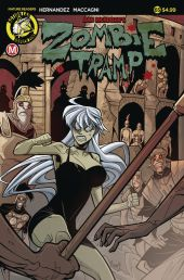 Action Lab - Danger Zone Zombie Tramp #65 Cover A by Marco Maccagni