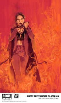Boom! Studios Buffy the Vampire Slayer #9 Main Cover by Marc Aspinall