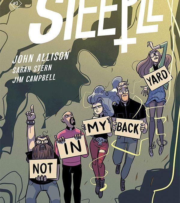 Dark Horse Comics Steeple #3 Cover A by John Allison