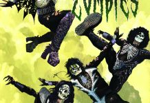Dynamite Entertainment KISS Zombies Cover A by Arthur Suydam
