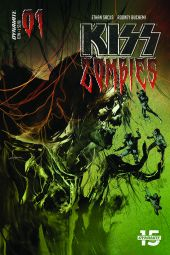 Dynamite Entertainment KISS Zombies Cover B by Stuart Sayger