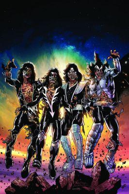 Dynamite Entertainment KISS Zombies Cover C (Virgin) by Rodney Buchemi
