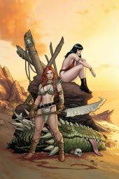 Dynamite Entertainment Vampirella/Red Sonja #3 Cover A (Virgin) by Frank Cho & Sabine Rich