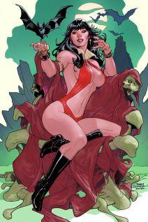 Dynamite Entertainment Vampirella Vol. 5 #5 Cover A (Virgin) by Terry Dodson