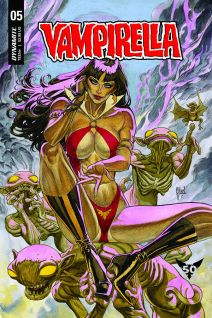 Dynamite Entertainment Vampirella Vol. 5 #5 Cover B by Guillem March