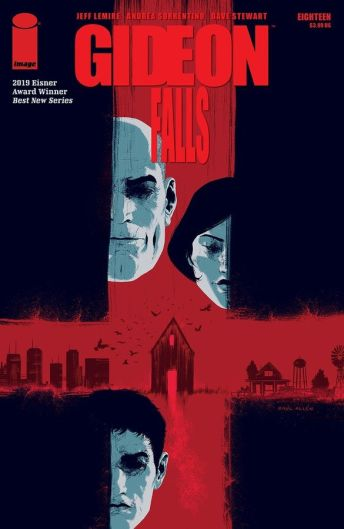 Image Comics Gideon Falls #18 Cover B by Raul Allen