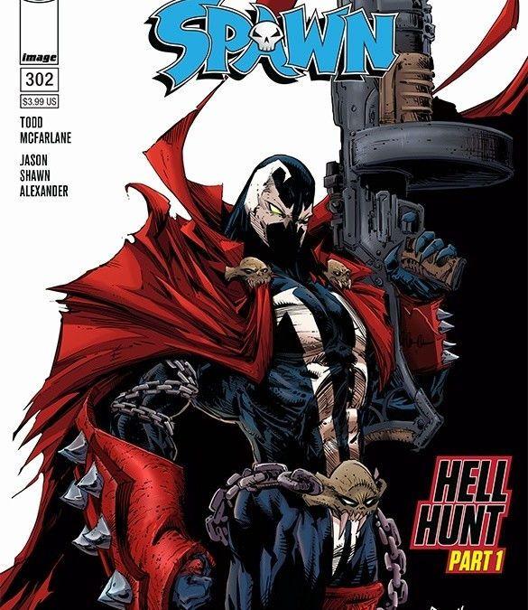 Image Comics Spawn #302 Cover by Todd McFarlane & Greg Capullo