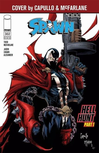 Image Comics Spawn #302 Cover by Todd McFarlane & Greg Capullo