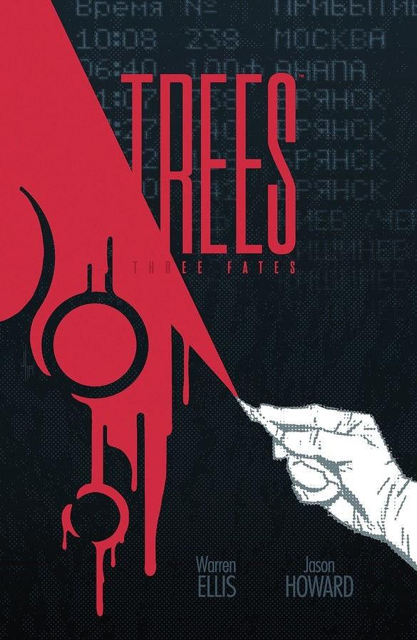 Image Comics Trees: Three Fates #3 Cover by Jason Howard