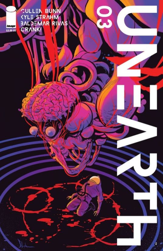 Image Comics Unearth #5 Cover A by Baldemar Rivas