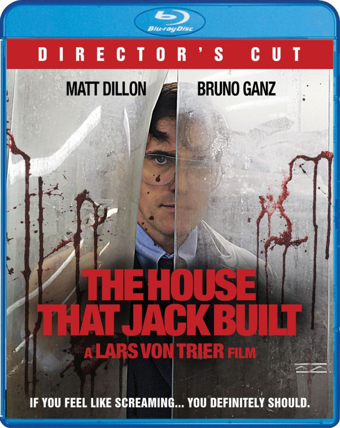 Scream Factory The House Jack Built Blu-ray Cover