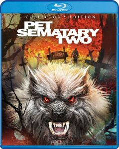 Scream Factory Pet Sematary Two Collector's Edition Blu-ray Cover