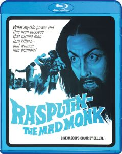 Scream Factory Rasputin The Mad Monk Blu-ray Cover