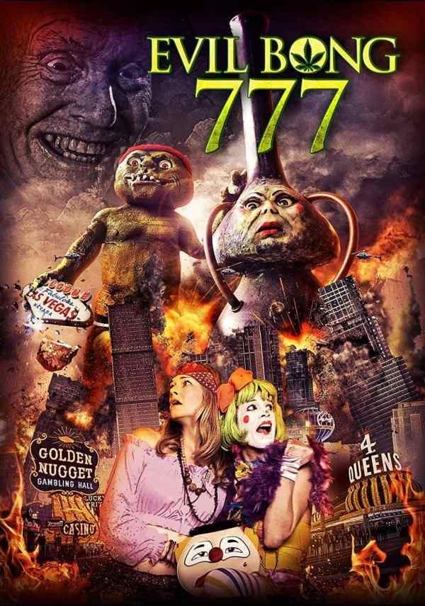 Evil Bong 777 Blu-ray Cover